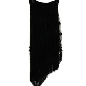 Tadashi Shoji | Long Asymmetrical Evening Skirt